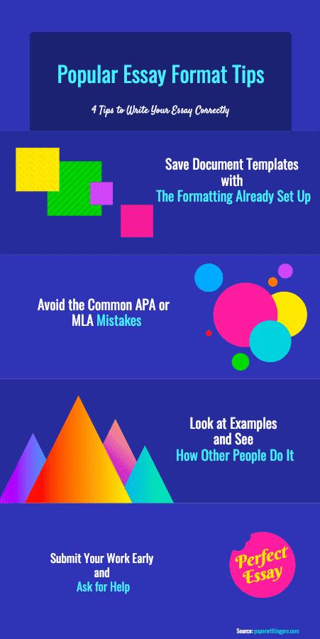 Essay Format Tips