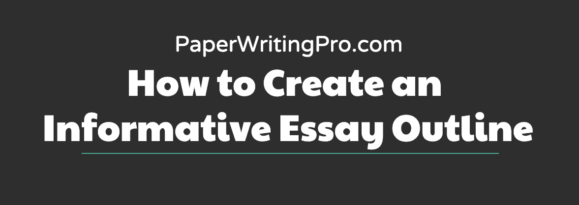 How to Create an Informative Essay Outline preview
