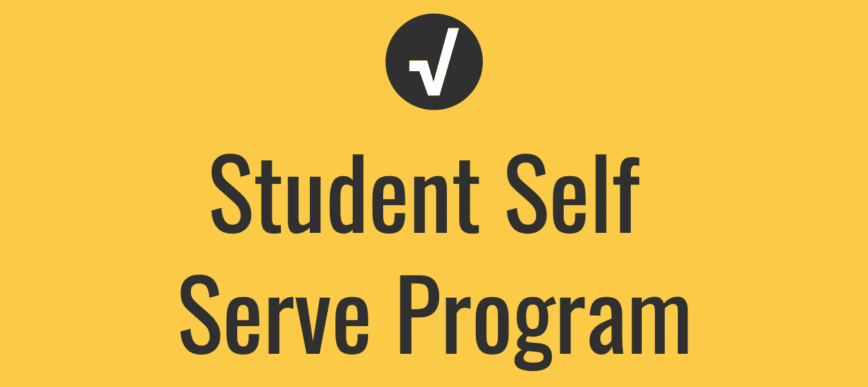 student self serve program preview